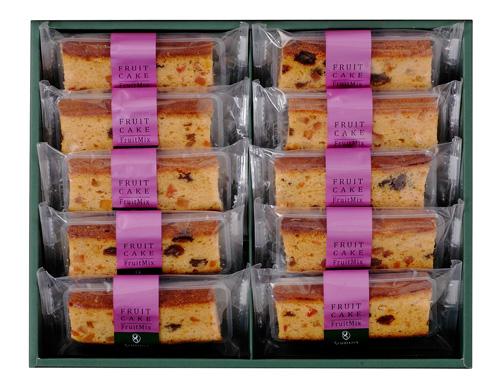 フルーツケーキ(10個化粧箱入)