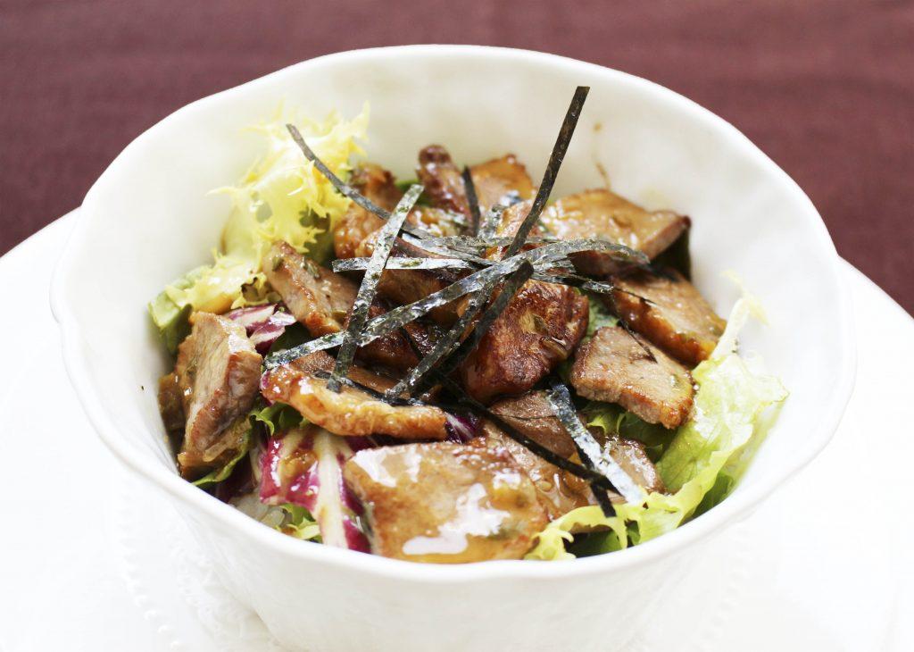 鴨胸肉とフォアグラ丼