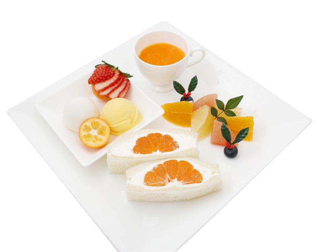柑橘尽くしのお正月プレート(港南台)