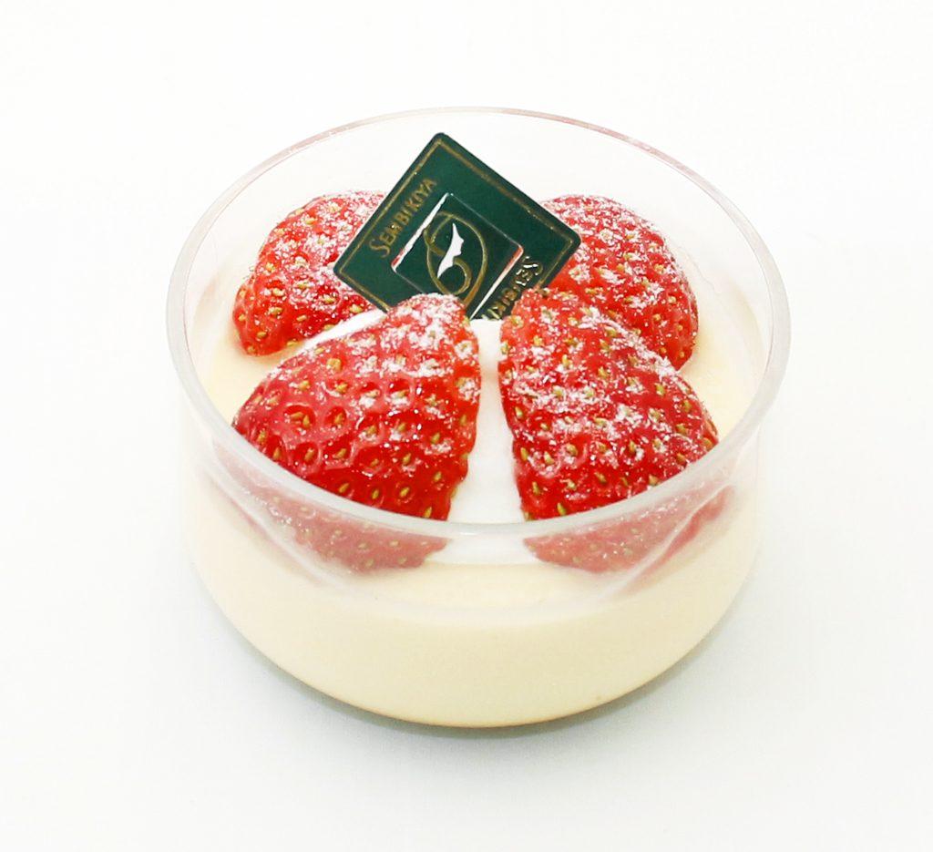苺のプリン(玉川髙島屋店限定)