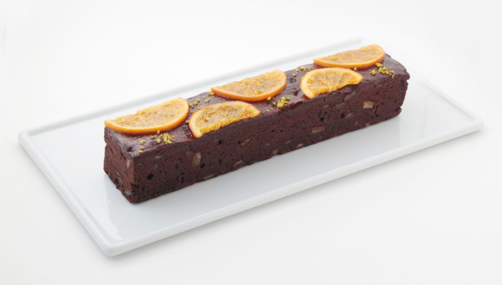 オレンジとチョコのケーク