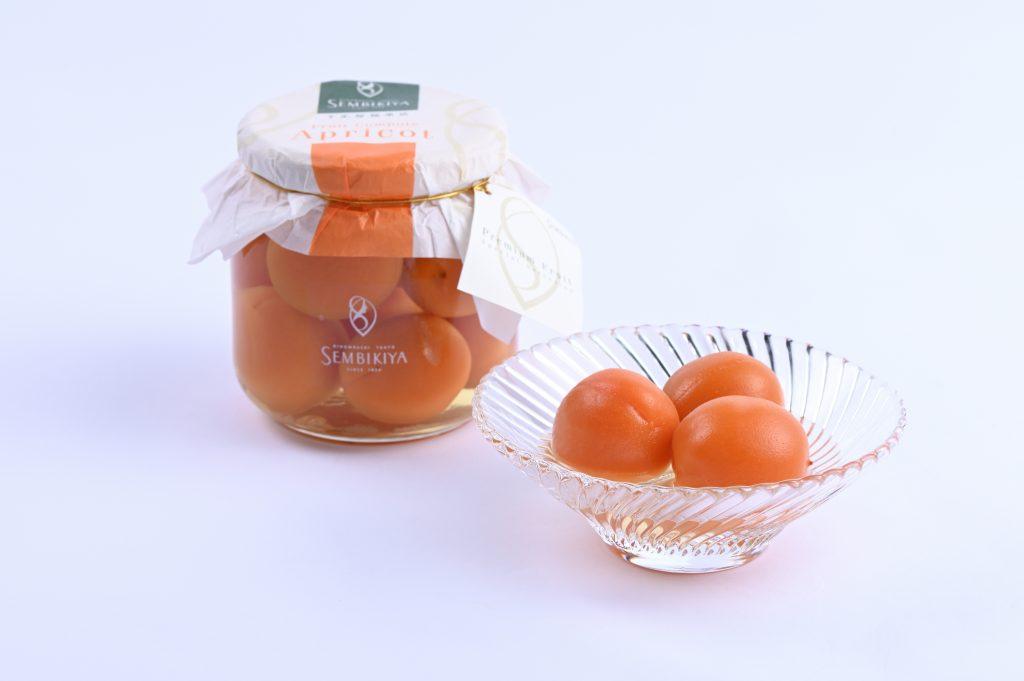 杏シロップ漬け