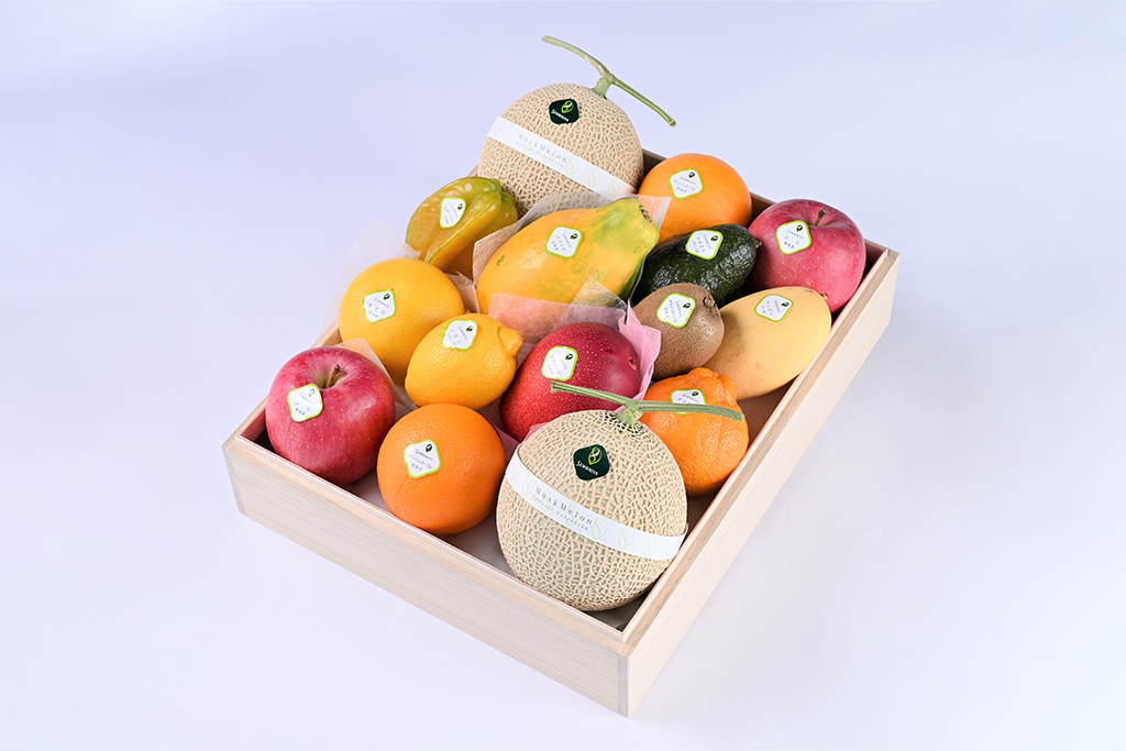 果物詰合 桐箱入